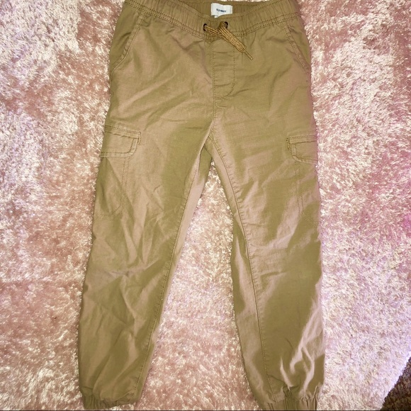 Old Navy Other - NWOT- S(6/7) Old Navy Khaki Cargo Joggers